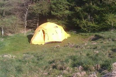 Small tent pitch (no EHU)