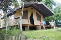 The Sweet Wood & Canvas Tent