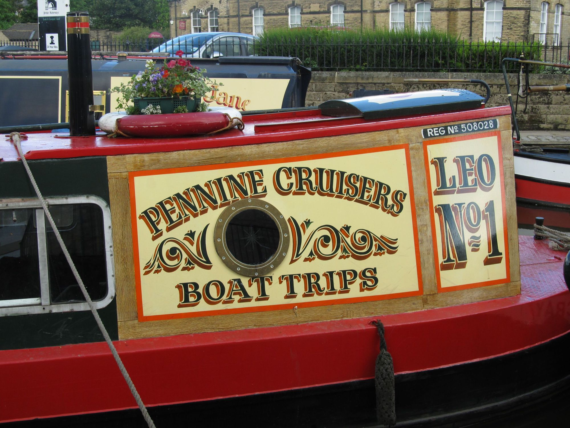 Cruising on the Leeds–Liverpool Canal