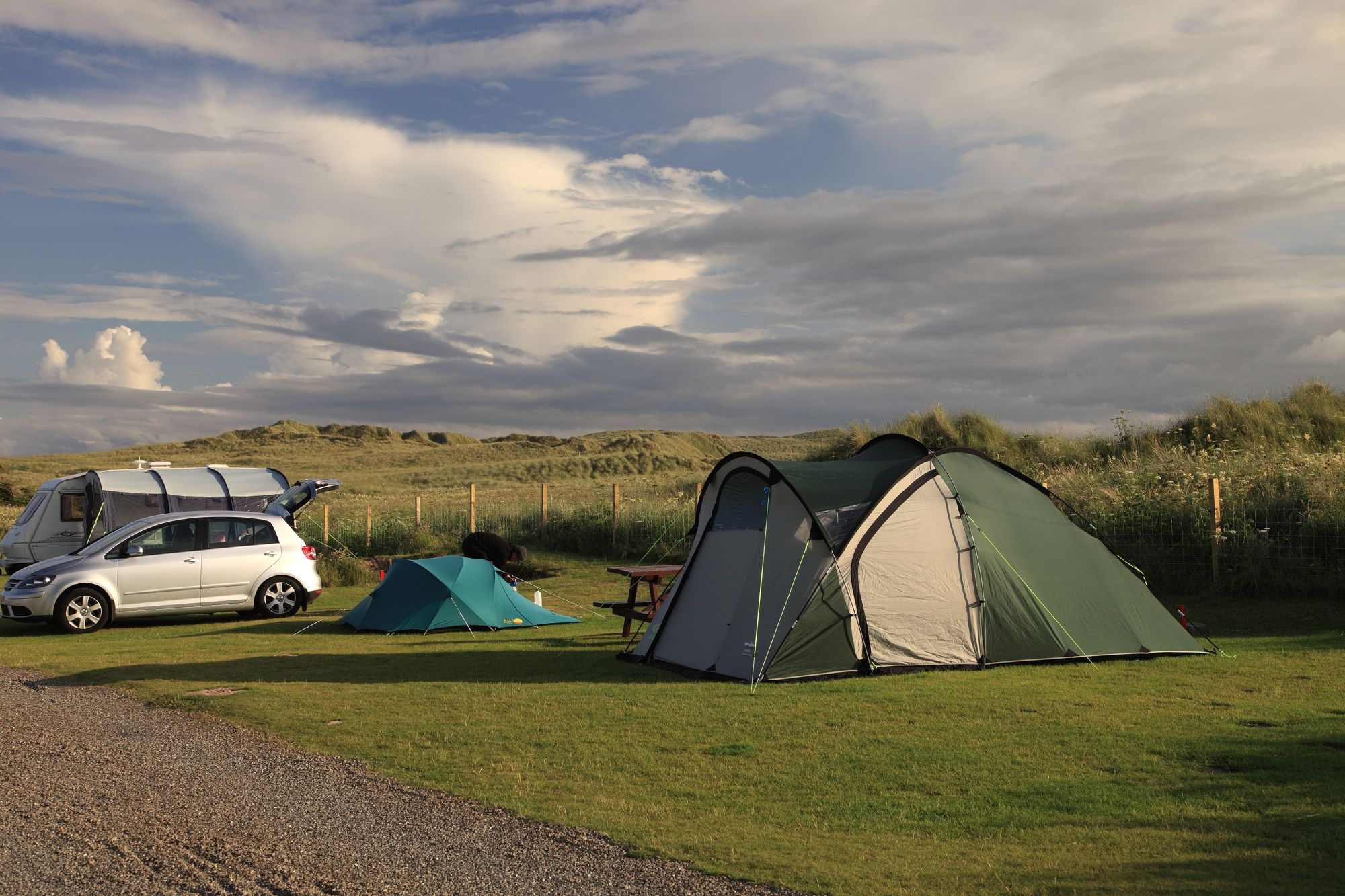 When you take it at face value, this site should be everything that Cool Camping is not: a council-owned site; run by the Caravan Club, with wardens in mint-green uniforms; and rules everywhere.