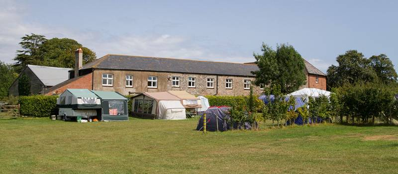 The farm has space for around 70 tents with a bunk house and holiday cottage too.