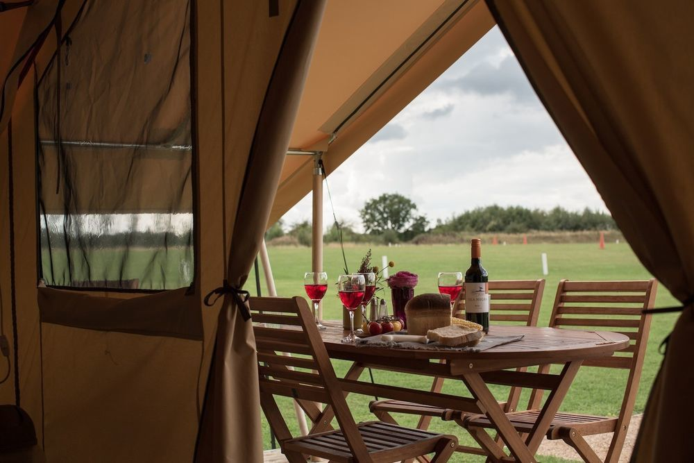 A prefect place for a peaceful glamping break in the country– but not too far from civilisation!