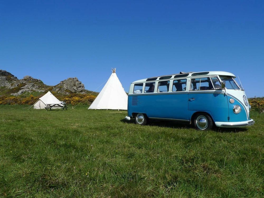 Glamping in West Wales