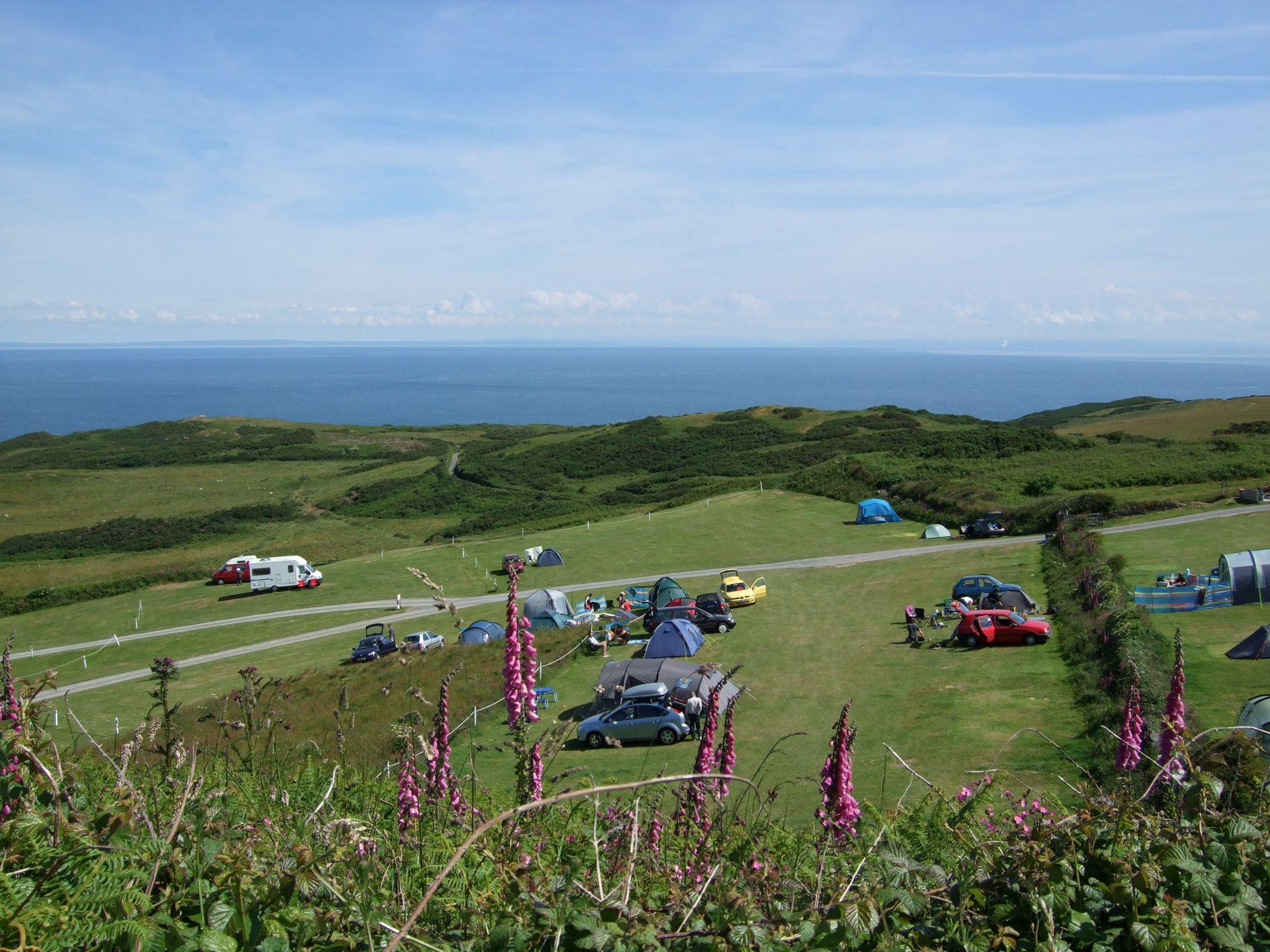 Mortehoe Camping | Best campsites in Mortehoe, Devon