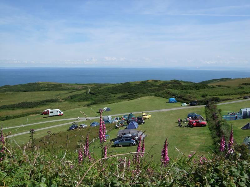 Mortehoe Camping | Best campsites in Mortehoe, Devon