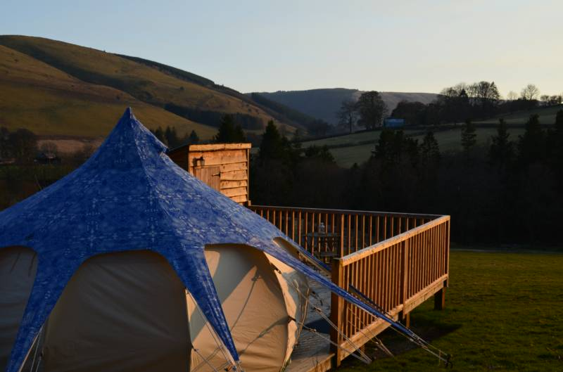Nant y Neuadd Lotus Belle Tent
