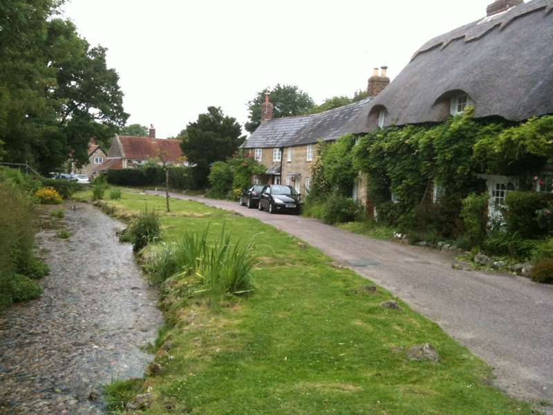 Winkle Street and Calbourne Water Mill