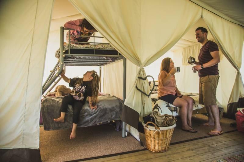 Hare's Hideout Safari Tent