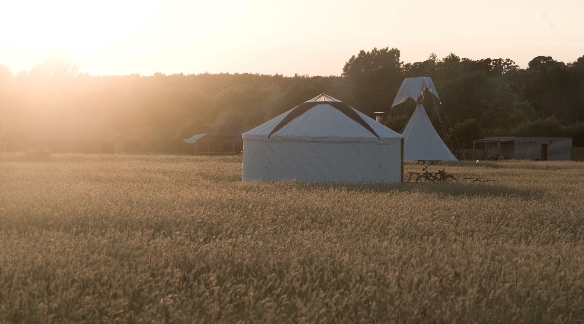 Glamping in the South Downs