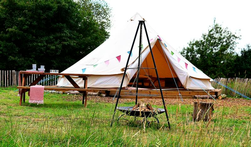 Millie Bell Tent Glamping Pitch