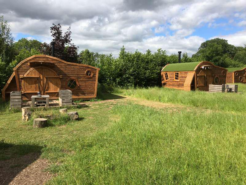 Glamping in North Yorkshire holidays at Cool Places