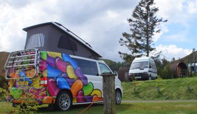 Caravan & Campervan Pitch