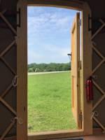 Oak Yurt - 18ft with outdoor kitchen