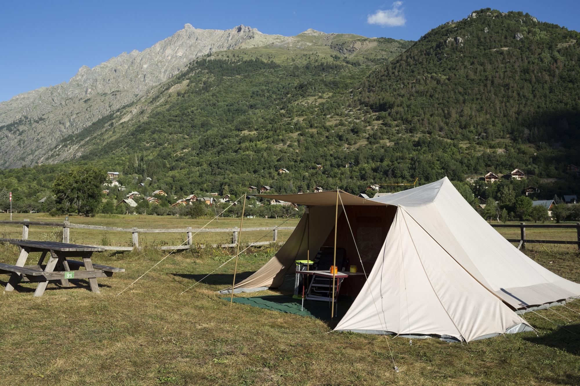 Campsites in Hautes-Alpes holidays at Glampingly