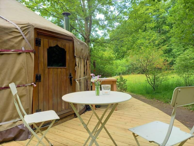 Esk Yurt Bellspool Coach House, EH45 9JU