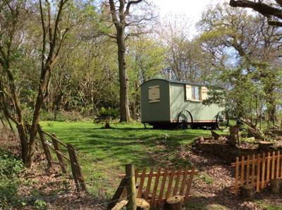 Waydown Shepherds Huts Waydown Cottage, Clayton Hill Pyecombe, Brighton, West Sussex BN45 7FF