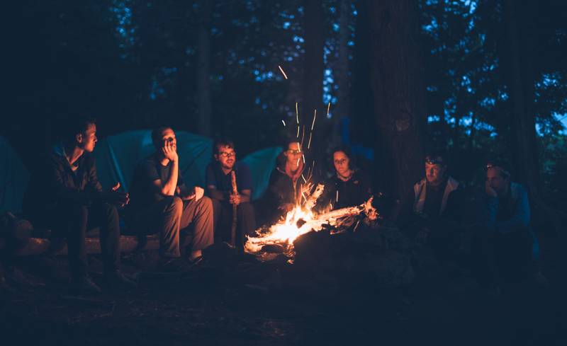 10 Campsites with Campfires in the New Forest
