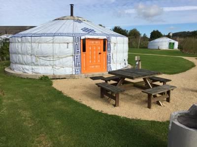 Buttercup Yurt