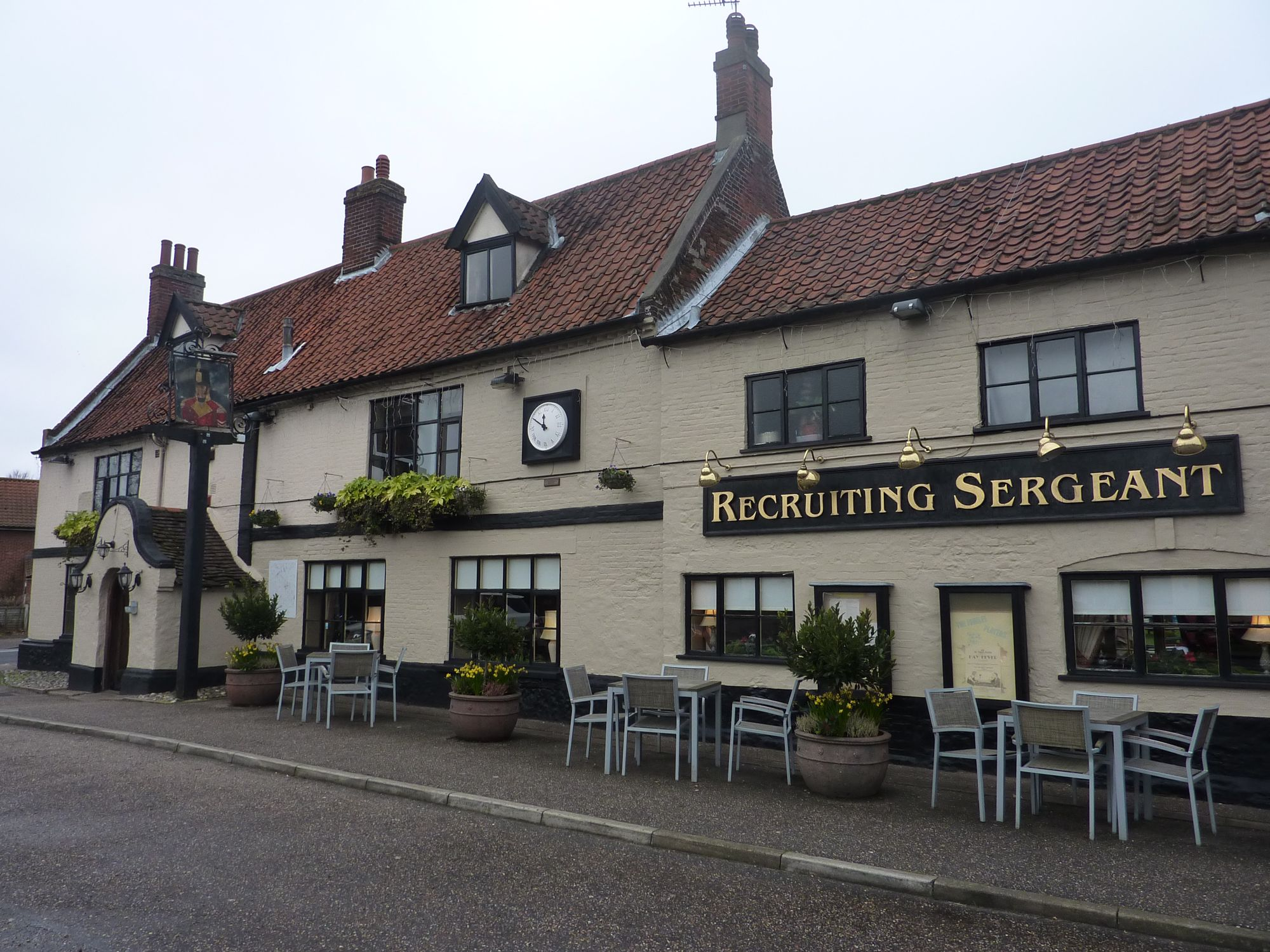 The Recruiting Sergeant, Horstead, Norfolk