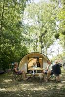 Camping pitch only tent – with electricity