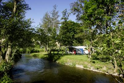 Trickly riverside camping in the green heart of a Grand Duchy.