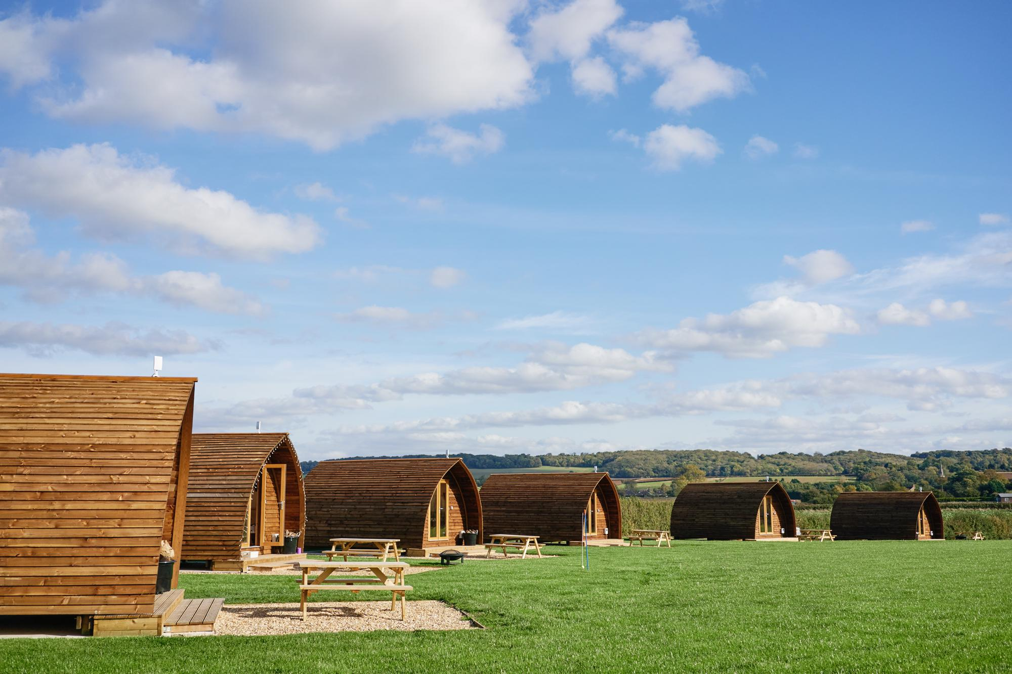 Glamping in Lincolnshire holidays at Cool Places