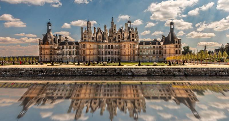 Château de Chambord: the most popular castle in the Loire Valley.