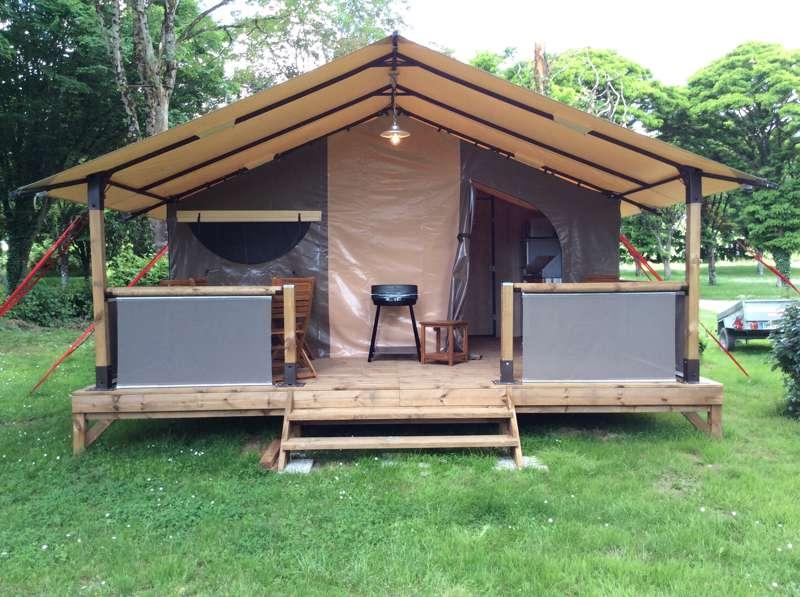 Samoa Tent Lodge (3 Guest Capacity)
