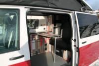 T5 Campervan in red