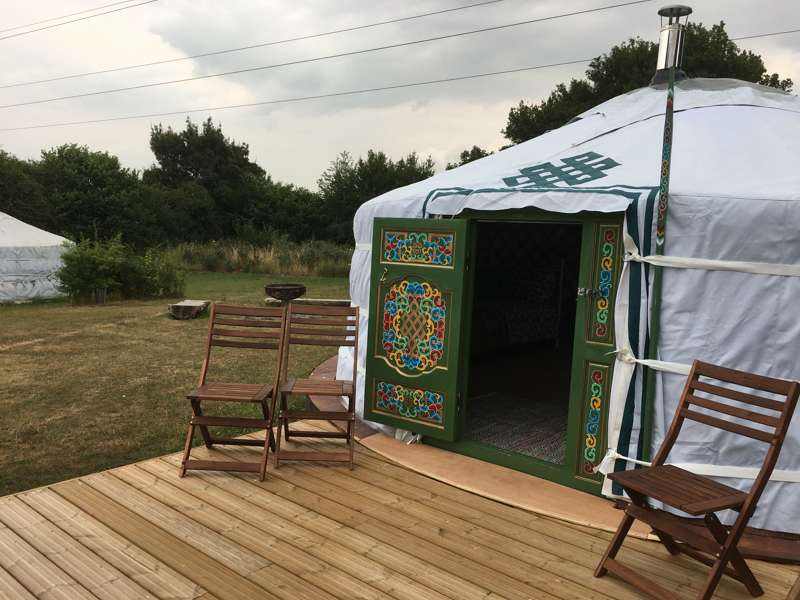 Bertie the Yurt