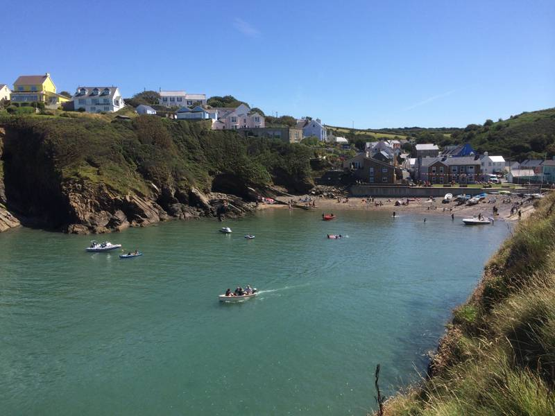 Little Haven Camping | Campsites in Little Haven, Pembrokeshire
