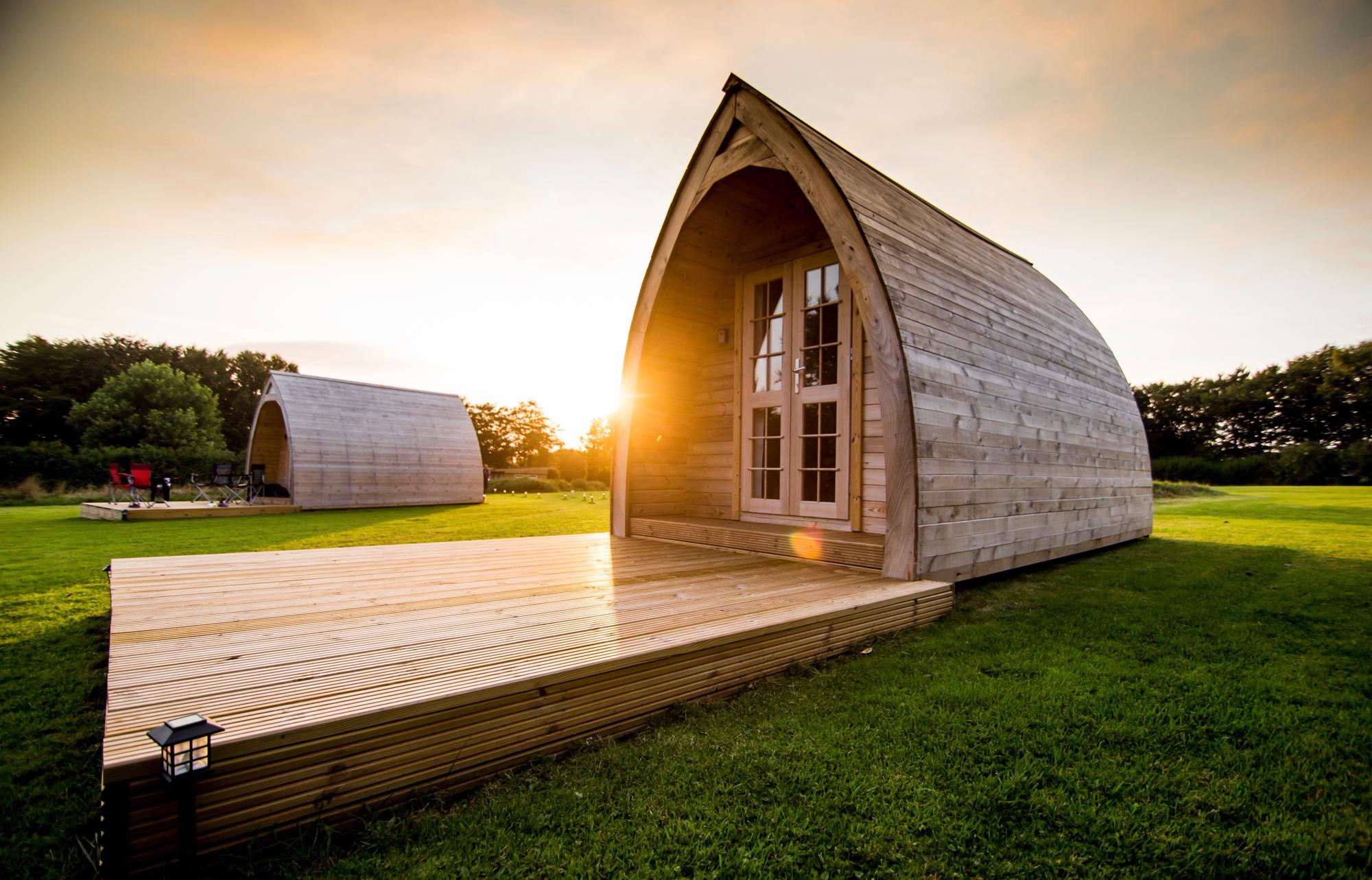 Glamping Pods in South West England