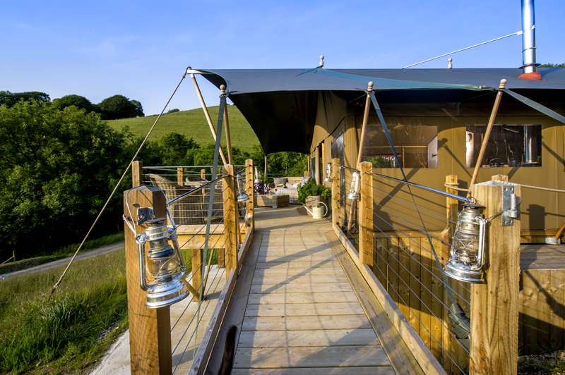 Longlands Glamping Longlands Farm, Coulsworthy, Combe Martin, North Devon EX34 0PD