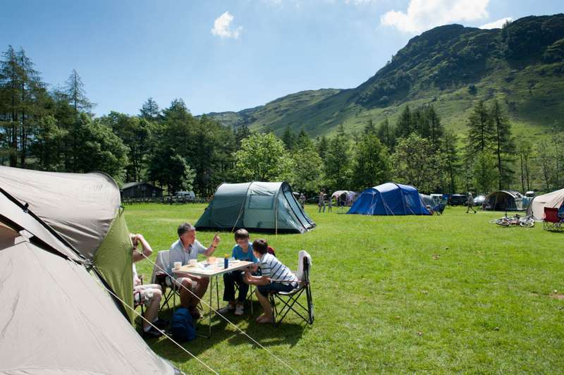 Great Langdale Campsite Great Langdale LA22 9JU