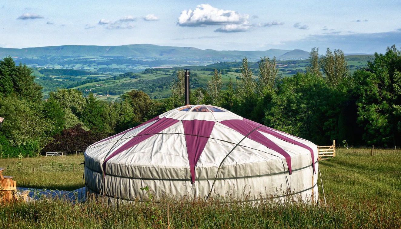 Glamping in Powys