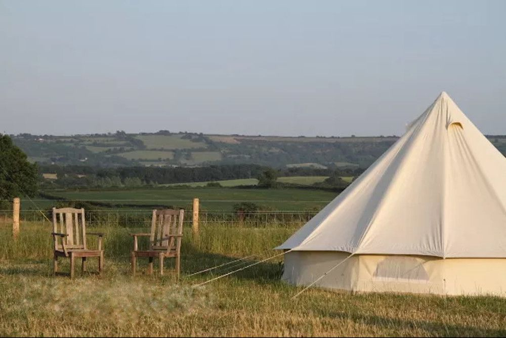 Campsites in the West Country