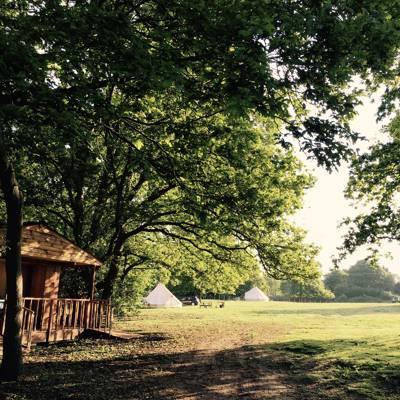 Oak Lodge Glamping  Oak Lodge Glamping, Mill Drove, Northwold, Thetford, Norfolk IP26 5LQ