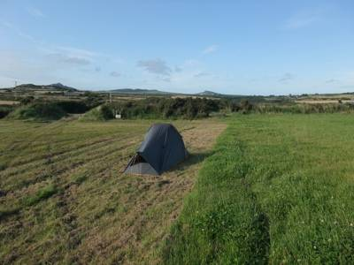 Never let it be said that the St David's Peninsula is short of a campsite or two.