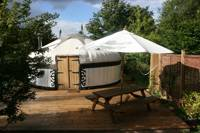 Quality Yurt in one of the Sussex High Weald's loveliest rural retreats