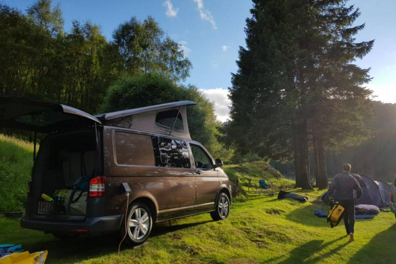 12 UK campervan hire companies with availability this autumn