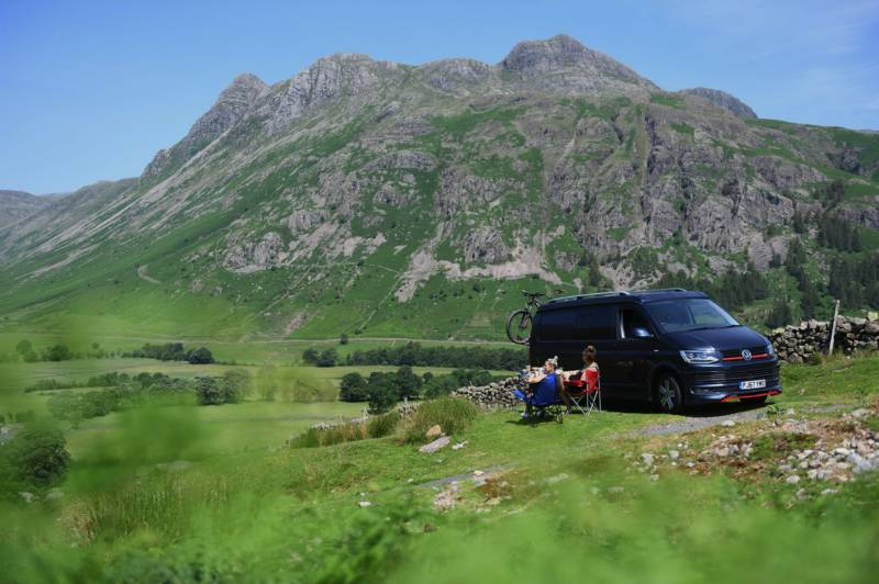 Lake District campervan hire