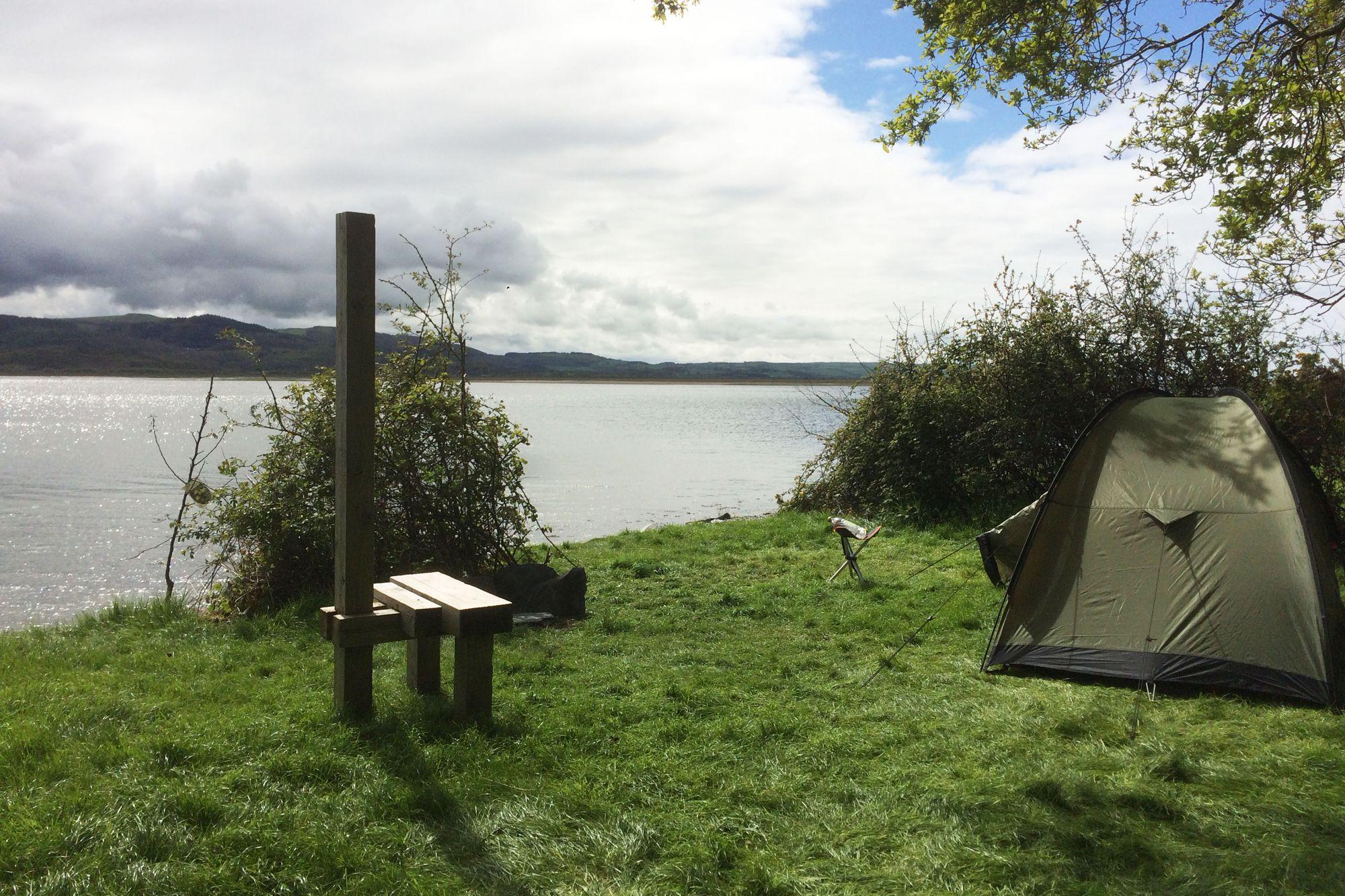 Smugglers Cove campsite