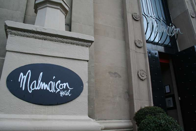 Malmaison Glasgow 278 West George Street Glasgow G2 4LL