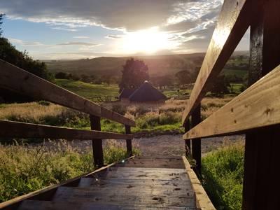 Yorkshire Fog Cabin - shared amenities