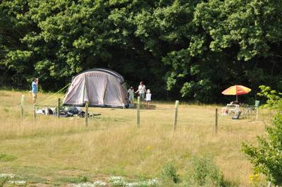 The Bank Camping Pitch