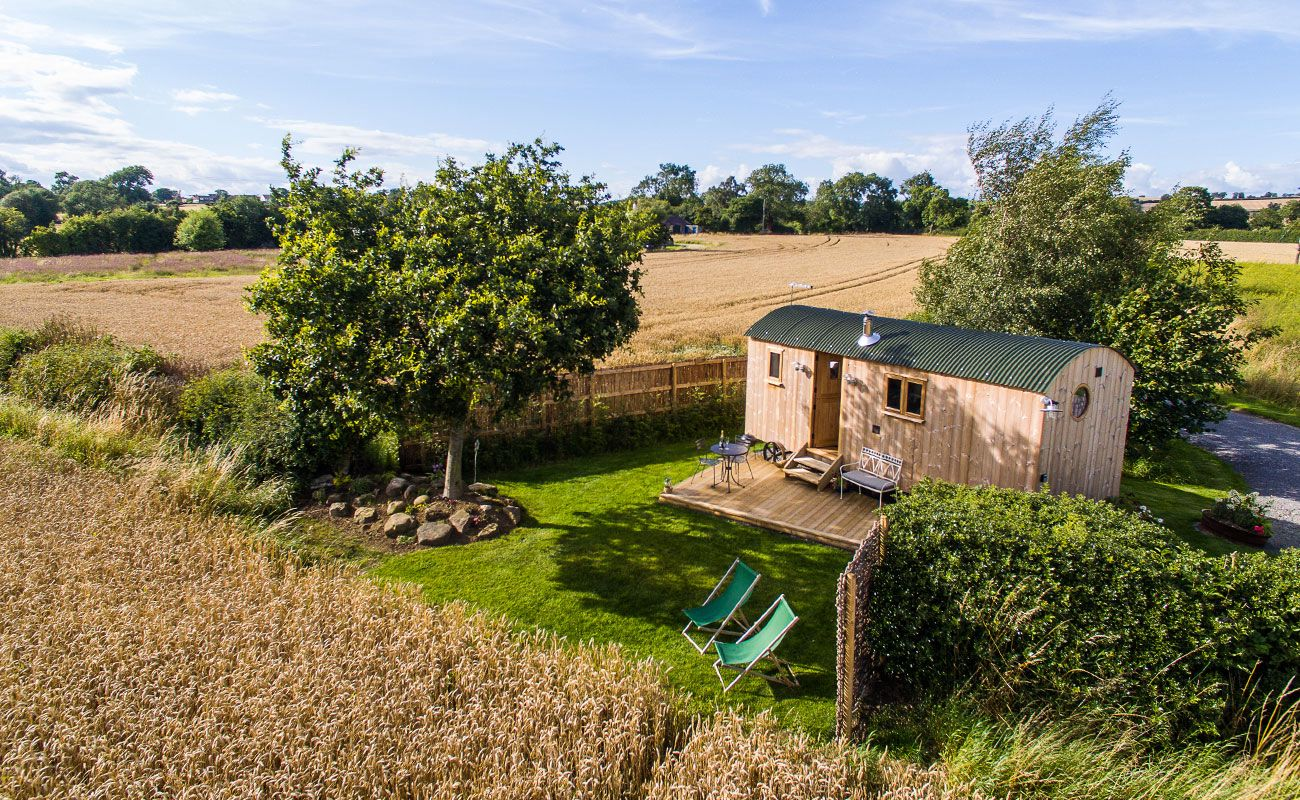 The Shepherds Hut at Mill Granary
