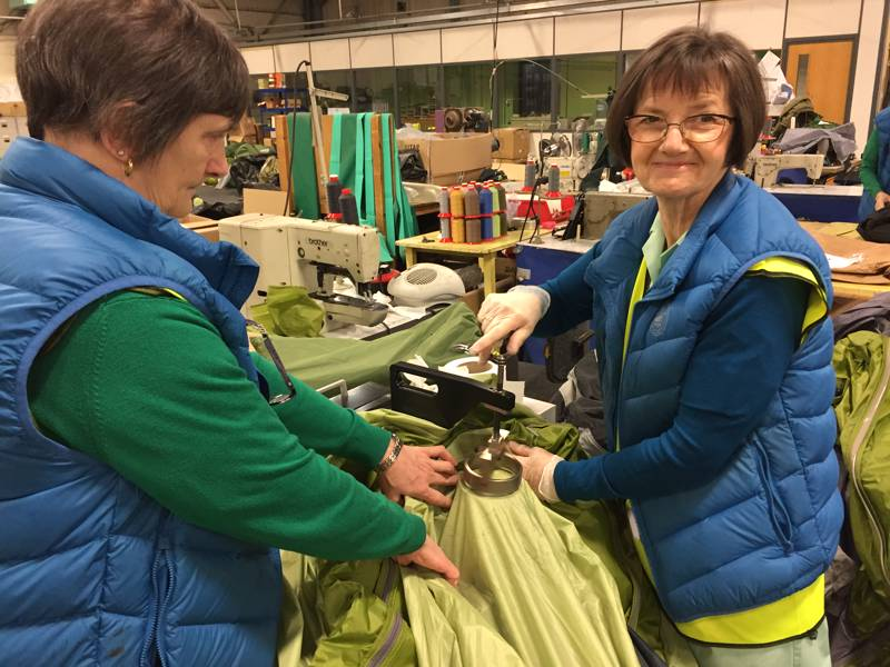 Camping recycling group pledges support to Scottish Mountain Rescue