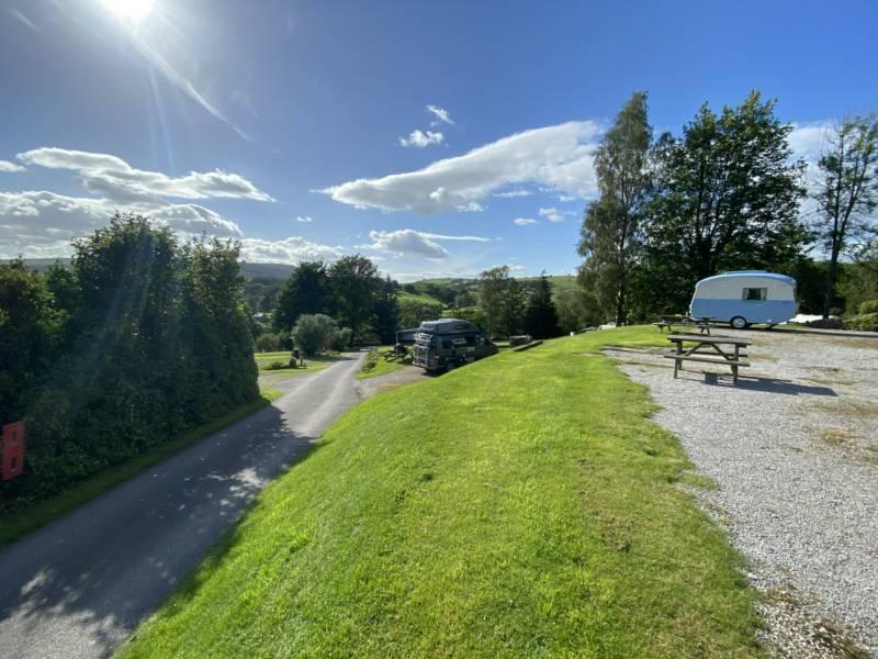 Up to 7.5m Motorhomes & Campervans with EHU
