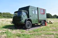 The Old Army Truck