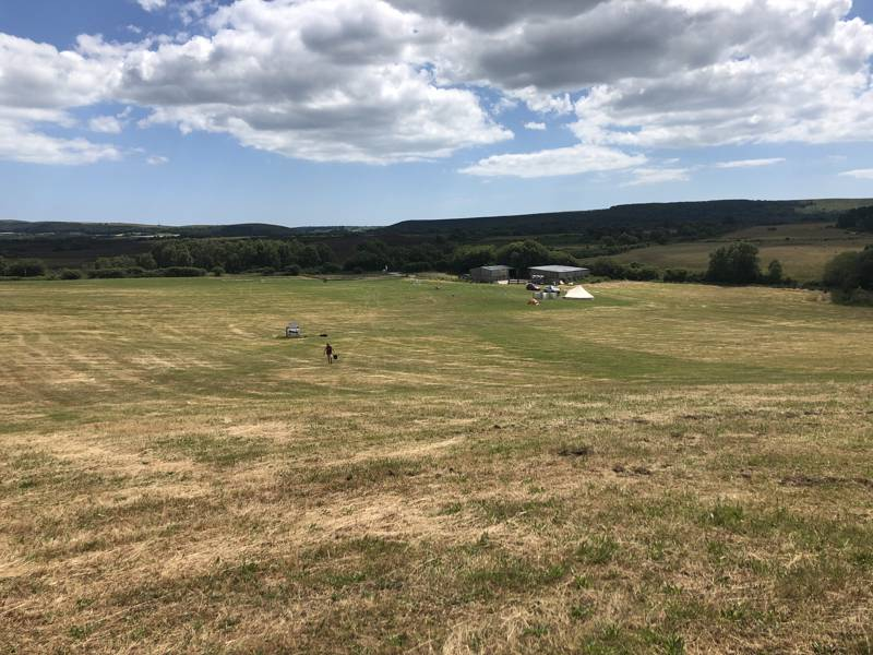 Knoll Farm Campsite, Isle of Purbeck, Dorset.